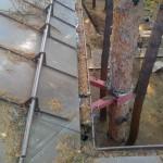 очистка и ремонт водосточных желобов