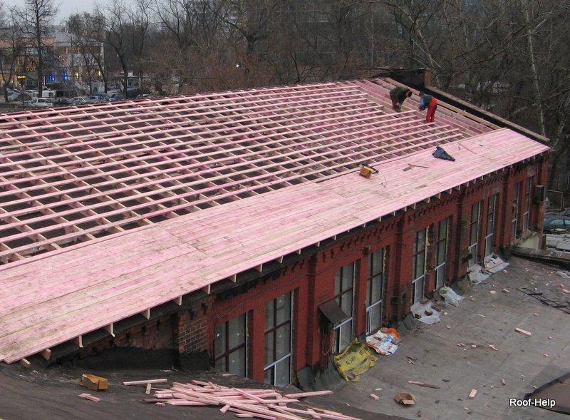 капитальный ремонт кровли в Москве