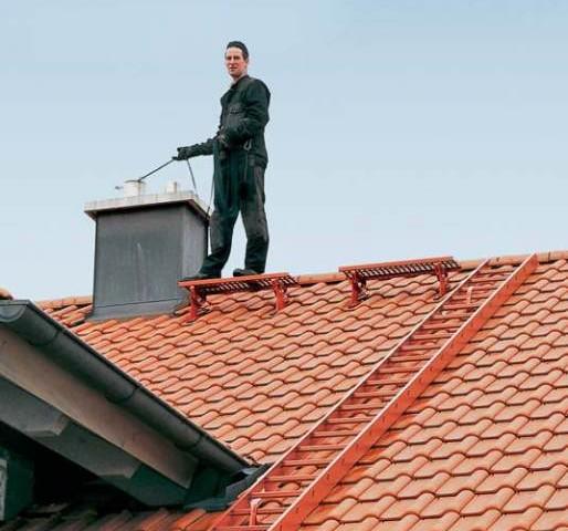 Элементы безопасности для обслуживания крыши