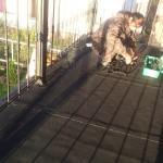 гидроизоляция Resitrix на балконе