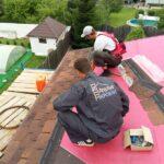 рабочие а крыше
