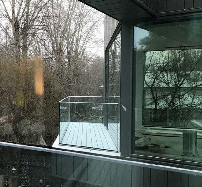 Балконы и террасы в Серебряном Бору