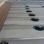 алюминиевые лаги на опорах