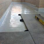 гидроизоляция и плитка на балконе