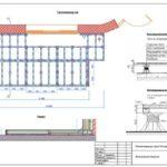 Лист проектирования террасы для кафе